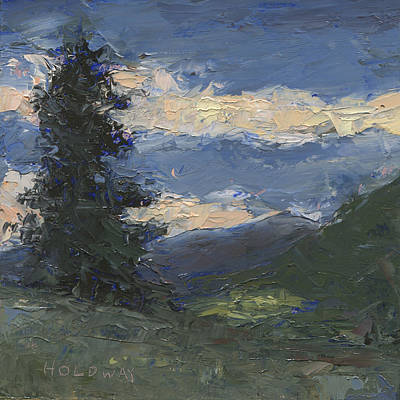 Painting - Mt Baldy by John Holdway