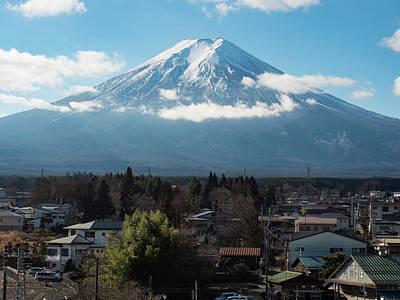 Fuji Photograph - Mt. Fuji by Woon Cherk Lam