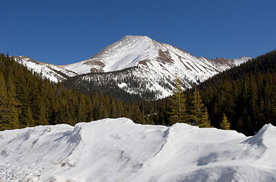 Colorado Photograph - Mt. Guyot by Aaron Spong