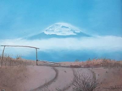 Mt. Kilimanjaro Print by Susan Roberts