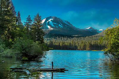 Photograph - Mt Lassen by Bill Gallagher