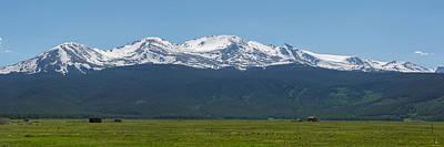 Mt. Massive Photograph - Mt. Massive - Spring by Aaron Spong