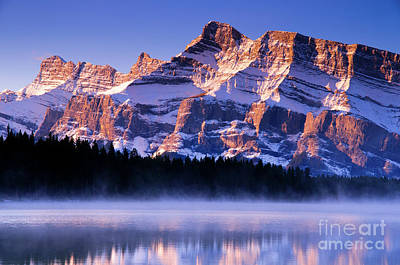 Mt Rundle Print by Ginevre Smith