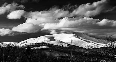 Mt. Silverheels Fairplay Colorado Print by Dennis Wagner
