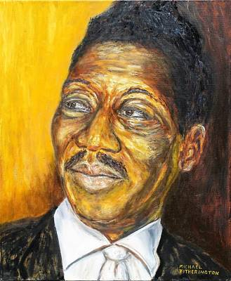 Muddy Waters Print by Michael Titherington
