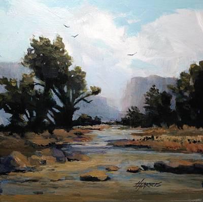 Painting - Muddywaters by Helen Harris