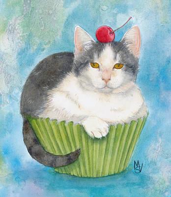 Muffins Painting - Muffin by Marie Stone Van Vuuren