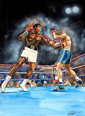 Muhammad Ali Print by Dave Olsen