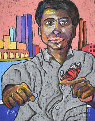 Muhammad Ali Drawings Pastel - Muhammad Ali by David Hinds