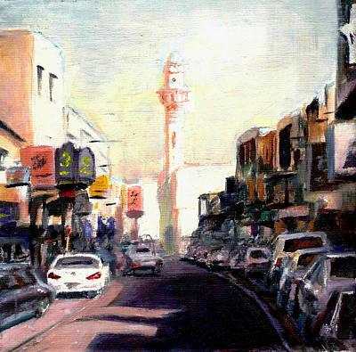 Bazaar Painting - Muharraq Souq 1 by Amani Al Hajeri