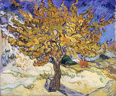 Gogh Painting - Mulberry Tree by Vincent Van Gogh