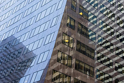 Photograph - Multiple Buildings Nyc by KM Corcoran