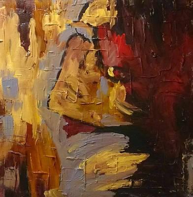 Alluring Painting - Mum by Mary Schellert