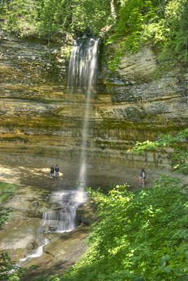 Munising Waterfall Print by Michael Peychich