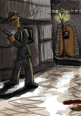 Murder At Number 5 Print by Sasank Gopinathan