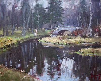Murder Creek Ny Print by Ylli Haruni