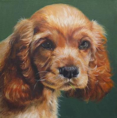Cocker Spaniel Painting - Murphy by Deborah Plath
