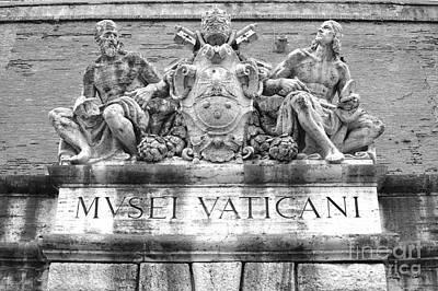 Musei Vaticani Print by Stefano Senise