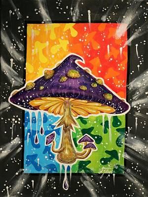 Mushroom Original by Gavin Johansen