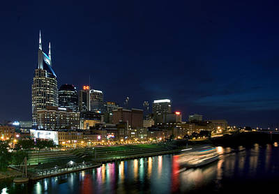 Music City Queen At Nashville Print by Mark Currier
