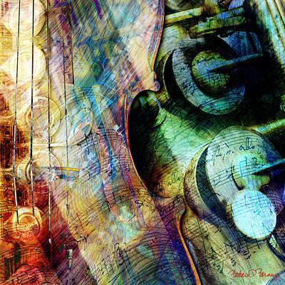 Music II Print by Barbara Berney