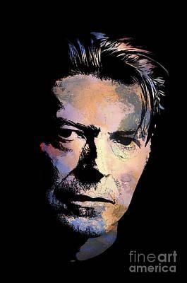 Painter Digital Art - Music Legend 2 by Andrzej Szczerski