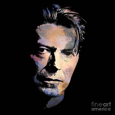 Painter Digital Art - Music Legend. by Andrzej Szczerski