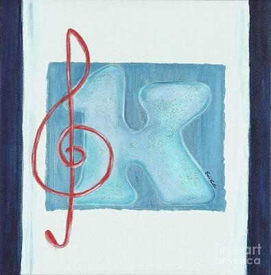 Music Note Print by Celebratta Celebratta