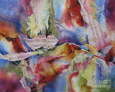 Music Of The Night Print by Deborah Ronglien