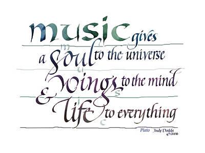 Music Recital  - Music Soul by Judy Dodds