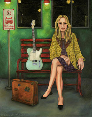 Music Traveler 2 Print by Leah Saulnier The Painting Maniac