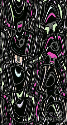 Licorice Digital Art - Musical All Sorts by Nina Silver