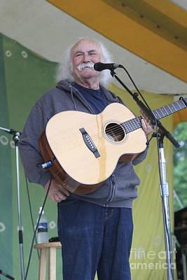 David Crosby Photograph - Musician David Crosby by Front Row Photographs
