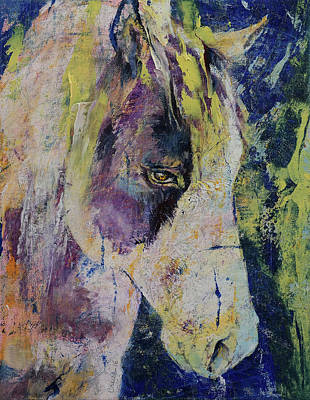 Mustang Print by Michael Creese