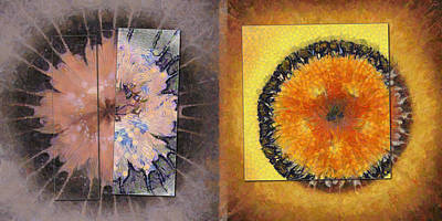 Mutinously Stiffness Flower  Id 16164-100421-32611 Print by S Lurk