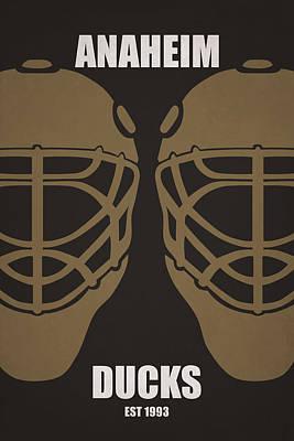 My Anaheim Ducks Print by Joe Hamilton