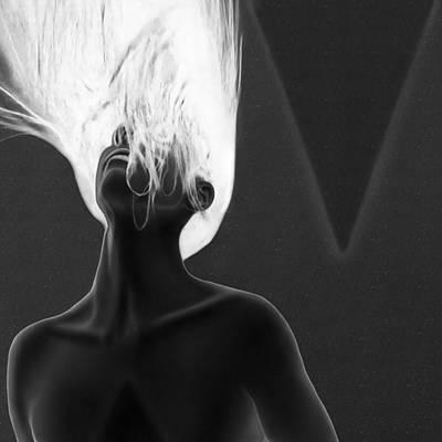 My Anxiety - Self Portrait Print by Jaeda DeWalt