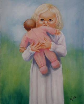 Baby Painting - My Baby by Joni McPherson