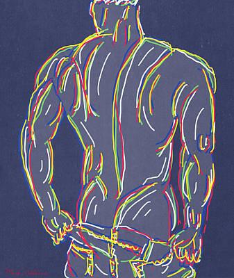 Nude Digital Art - My Boy  by Mark Ashkenazi