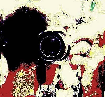Digital Art - My Camera by YoMamaBird Rhonda