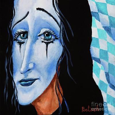 Pierrot Painting - My Dearest Friend Pierrot by Igor Postash