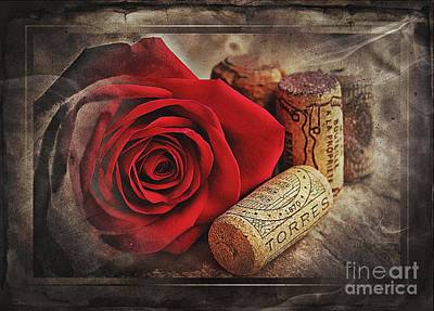 Corks Photograph - My Favouites Things by Clare Bevan