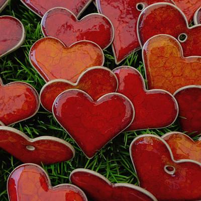 Ceramics Photograph - My Funny Valentine by Marcus Hammerschmitt