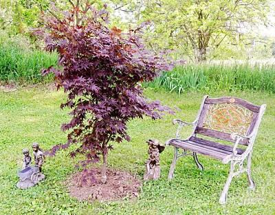 My Happy Place Original by Marsha Heiken