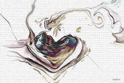 Grow Digital Art - My Heart Grows by Linda Sannuti