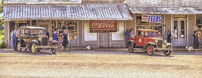 Photograph - My Home Town by Ron  McGinnis