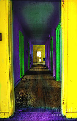 Abandoned Homes Photograph - My Illusion Lies Just Beyond by Michael Eingle
