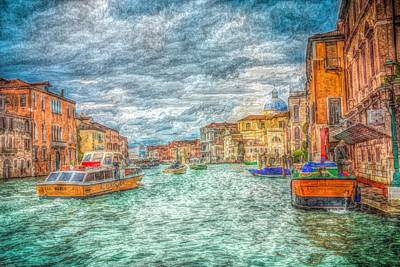 My Italy Print by Mark Taylor