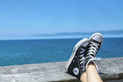 Mens Shoe Photograph - My Kind Of Day by Randy Steele