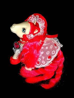 My Little Pony Cherry Treats Second Pose Print by Donatella Muggianu